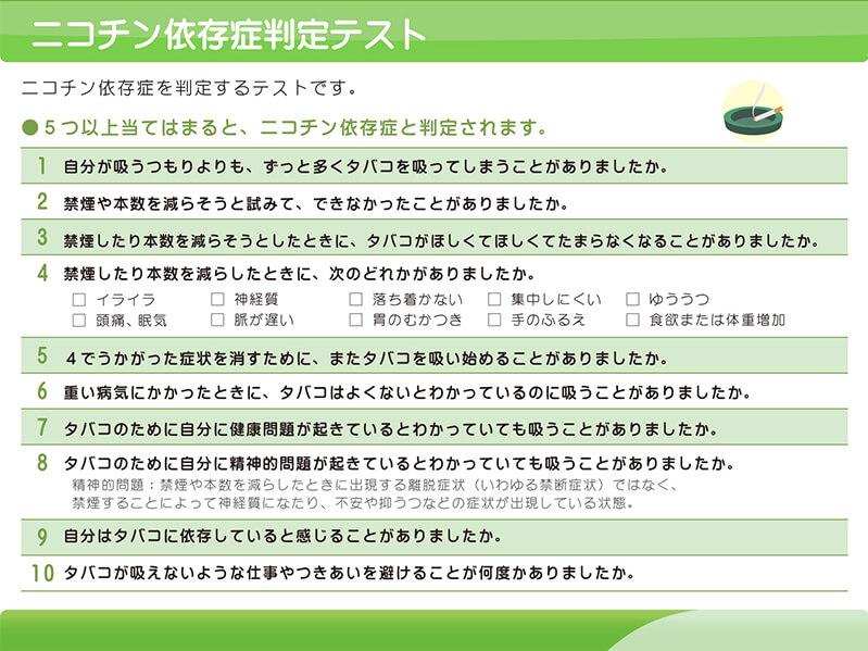 【図】ニコチン依存症(禁煙治療)